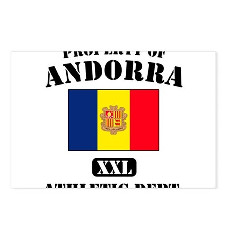 Property of Andora Athletic D Postcards (Package o