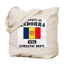 Property of Andora Athletic D Tote Bag