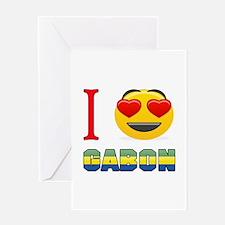I love Gabon Greeting Card