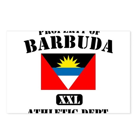 Property of Barbuda Athletic Department Postcards