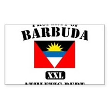 Property of Barbuda Athletic Department Decal