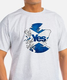 Yes for Scotland T-Shirt