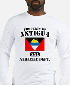 Property of Antigua Athletic  Long Sleeve T-Shirt