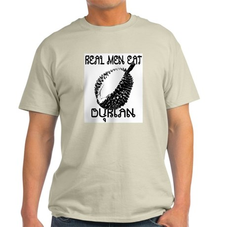 Hold Your Nose It's Durian Season- Gray T