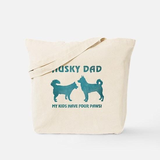 HUSKY DAD Tote Bag
