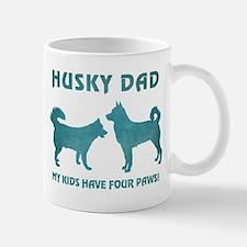 HUSKY DAD Mugs