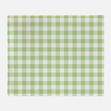 Cute Checked Throw Blanket