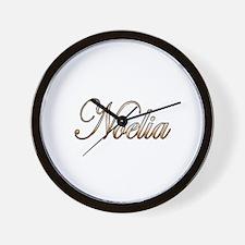 Cute Noelia Wall Clock