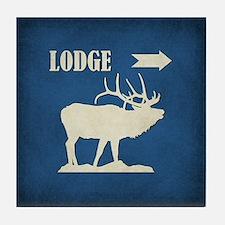 LODGE Tile Coaster