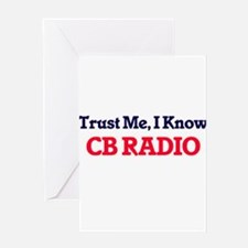Trust Me, I know Cb Radio Greeting Cards
