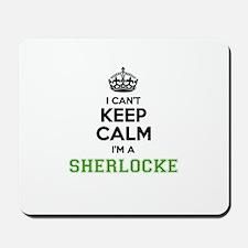 Sherlocke I cant keeep calm Mousepad