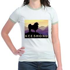 Keeshond Purple Mountain T