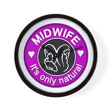 Midwives ~ caring Wall Clock