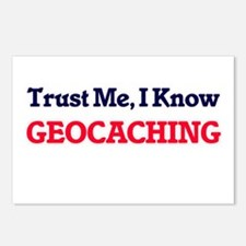 Trust Me, I know Geocachi Postcards (Package of 8)