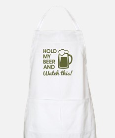 HOLD MY BEER Apron