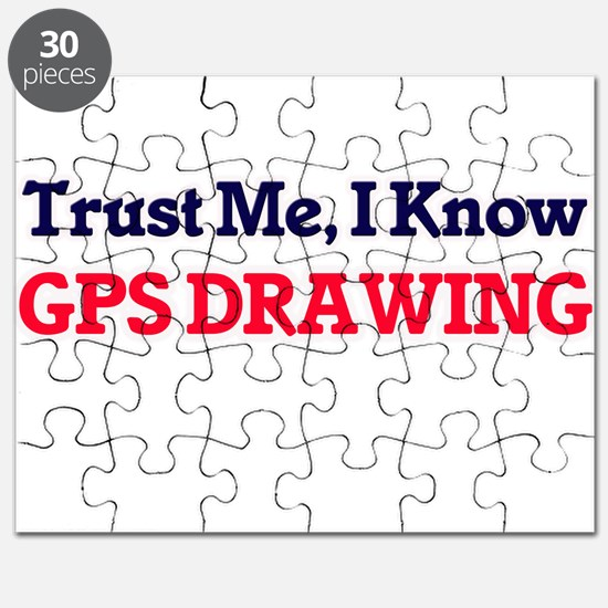 Trust Me, I know Gps Drawing Puzzle