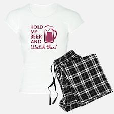 HOLD MY BEER Pajamas