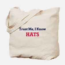 Trust Me, I know Hats Tote Bag