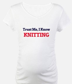 Trust Me, I know Knitting Shirt