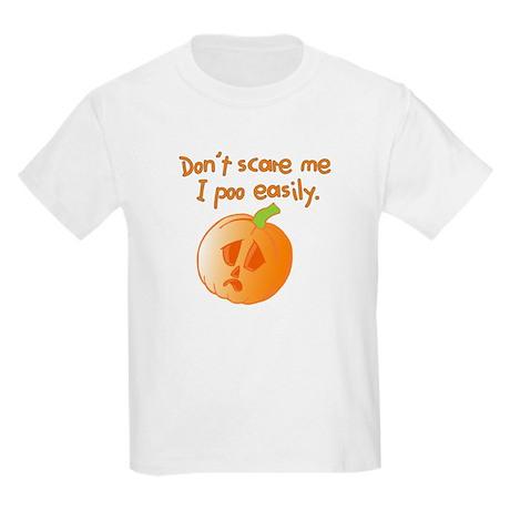 Halloween Pumpkin Kids Light T-Shirt