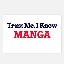 Trust Me, I know Manga Postcards (Package of 8)