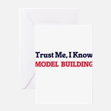 Trust Me, I know Model Building Greeting Cards