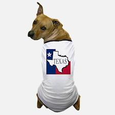 Texas flag outline Dog T-Shirt