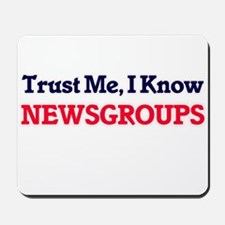 Trust Me, I know Newsgroups Mousepad