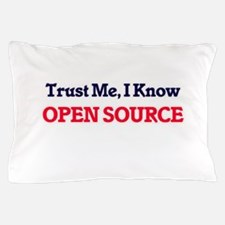 Trust Me, I know Open Source Pillow Case