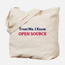 Trust Me, I know Open Source Tote Bag