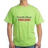 Origami Green T-Shirt