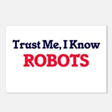 Trust Me, I know Robots Postcards (Package of 8)