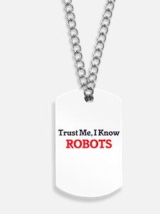 Trust Me, I know Robots Dog Tags