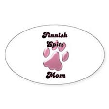 Spitz Mom3 Oval Decal