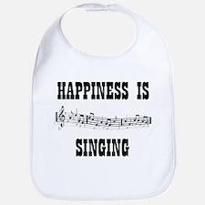 Cute Music chorus Bib