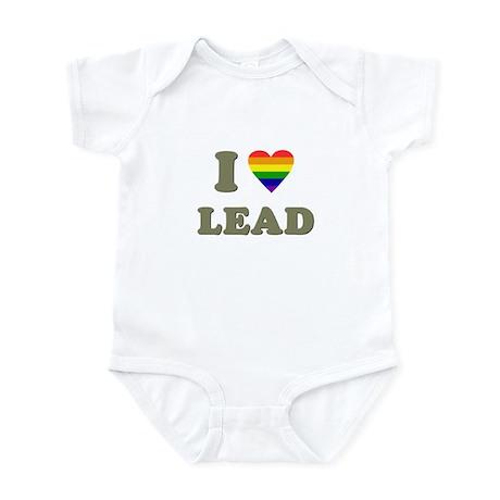 I Heart LEAD Infant Bodysuit