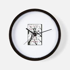 Masturbator Wall Clock
