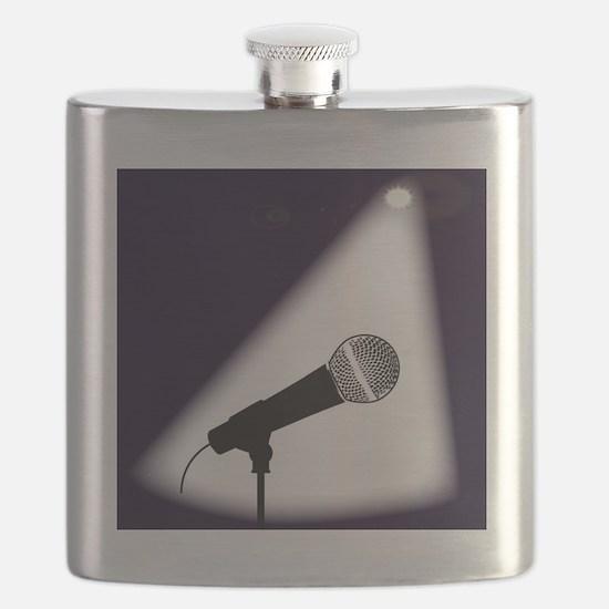 Unique Microphone Flask