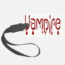 Funny Blood drips Luggage Tag