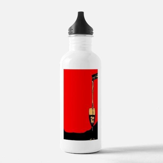 Cute White wine Water Bottle