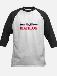 Trust Me, I know Biathlon Baseball Jersey