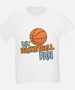 Lil' Basketball Fan T-Shirt
