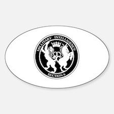 Unique Spy Sticker (Oval)