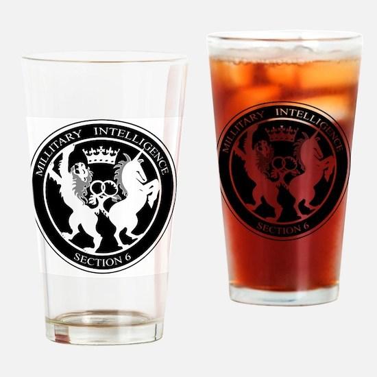 Unique Mi6 Drinking Glass