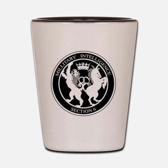 Funny United kingdom Shot Glass