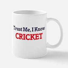 Trust Me, I know Cricket Mugs