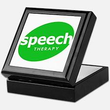 Speech Therapy Keepsake Box
