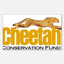 Cheetah Conservation Fund Decal