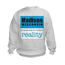 Madison Wisconsin surrounded Sweatshirt
