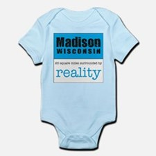Madison Wisconsin surrounded Infant Bodysuit